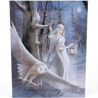 Anne Stokes - Toile - Midnight Messenger