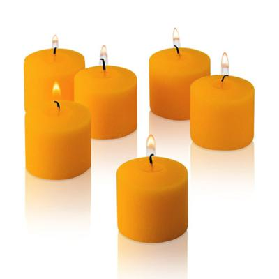 Bougie votive mangue
