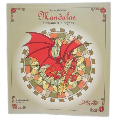 Mandalas - Donjons et dragons - Joane Michaud