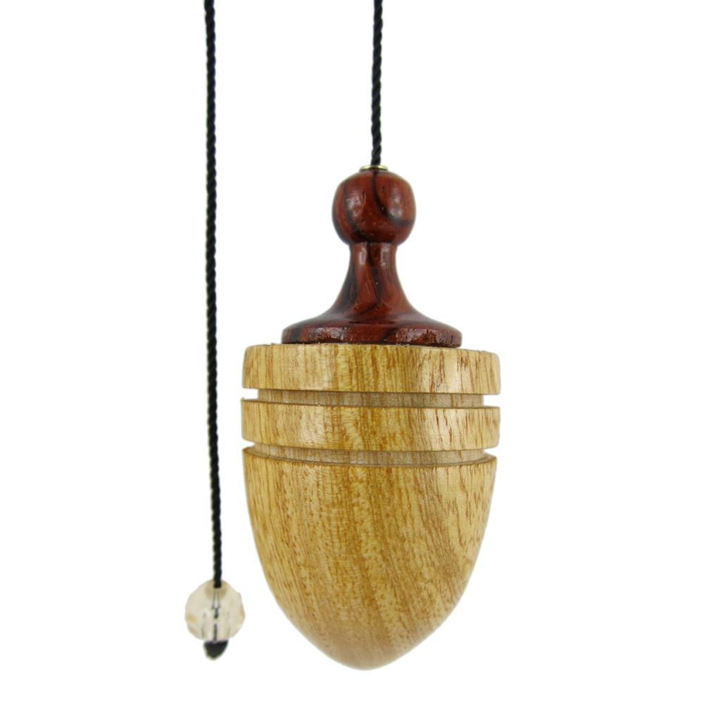 Pendule druide en bois pr cieux radiesth sie pendule en bois for Grande pendule en bois