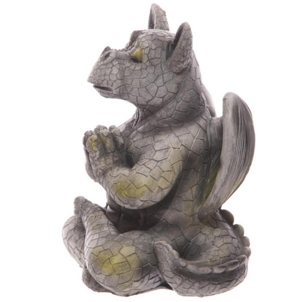 Figurine dragon de jardin m ditation mod le a Figurine pour jardin