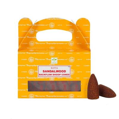 Encens Shrinivas Sugandhalaya- Satya Backflow Sandalwood Santal